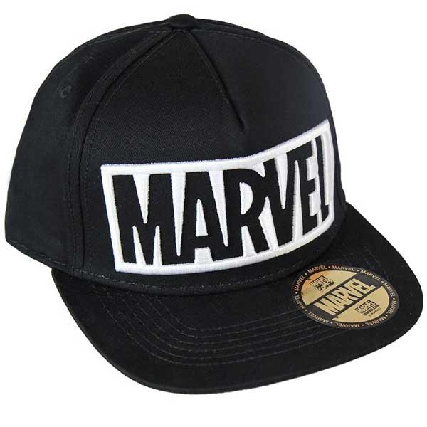 Čiapka White Outline Logo Snapback (Marvel)