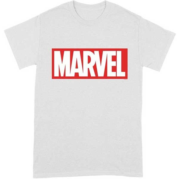 Comics Simple Logo T Shirt (Marvel) XXL