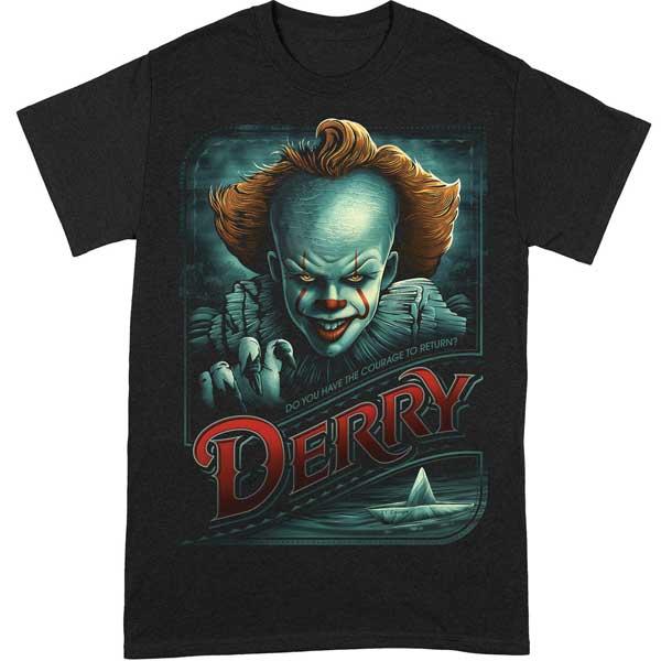 Derry Courage To Return T Shirt (IT) XL