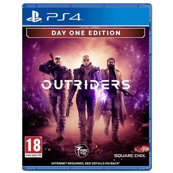 Outriders (Day One Edition) [PS4] - BAZÁR (použitý tovar)