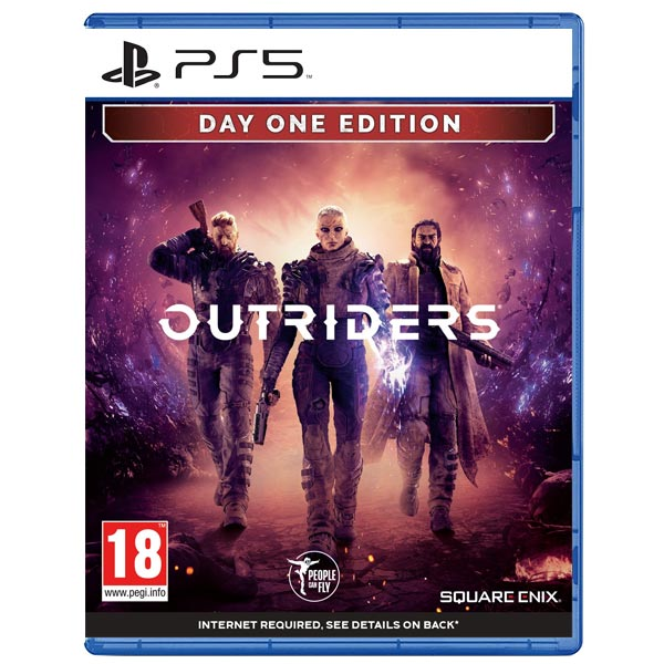 Outriders (Day One Edition) [PS5] - BAZÁR (použitý tovar)