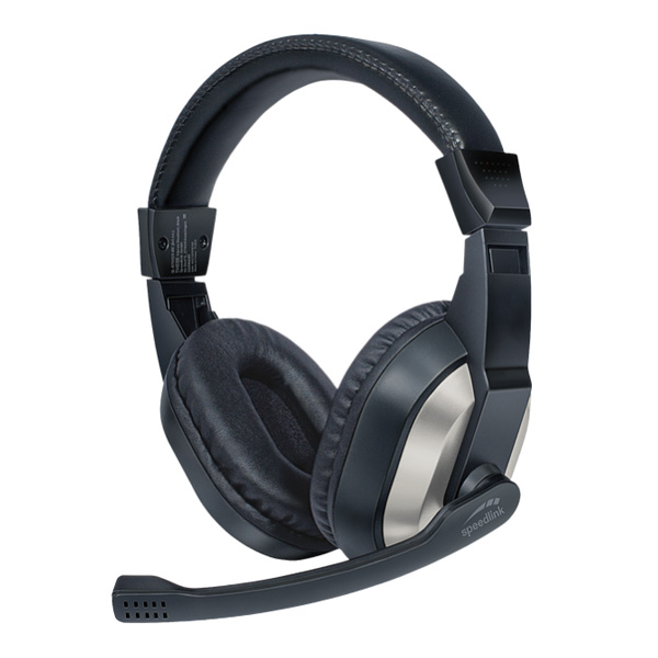 Speedlink Thebe Stereo Headset, black SL-870020-BK