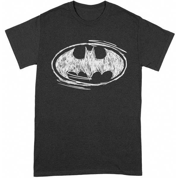 Tričko Batman Sketch Logo (DC) XXL