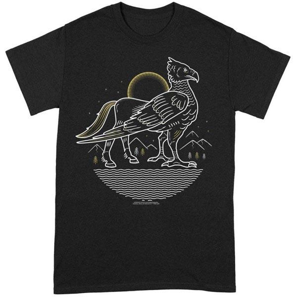 Tričko Buckbeak Line Art (Harry Potter) L TS120HP-L