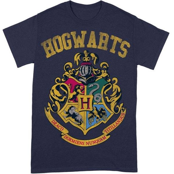 Tričko Crest Varsity Style (Harry Potter) L TS427HP-L