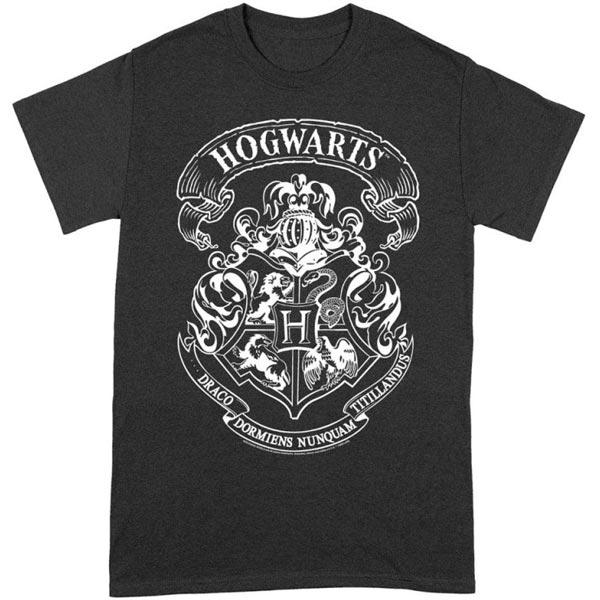 Tričko Hogwarts Crest (Harry Potter) L