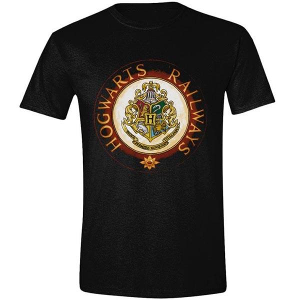 Tričko Hogwarts Railway Circle (Harry Potter) M TS507HP-M