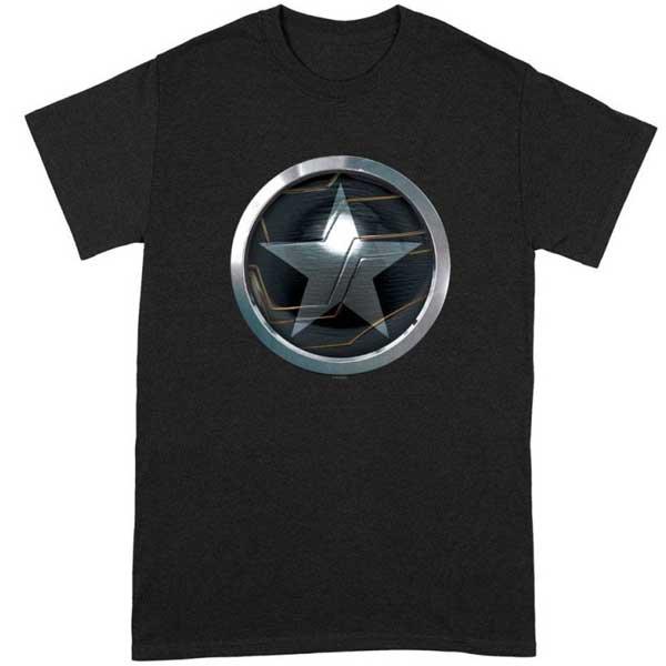 Tričko Star Emblem  (Marvel) L