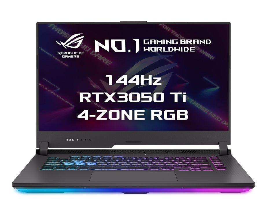 """ASUS ROG Strix G15 G513QE-HN029T R5-5600H , 16GB , 512GB SSD, RTX 3050Ti (4GB), 15,6"""" FHD IPS, Win10, EclipseGray G513QE-HN029T"""