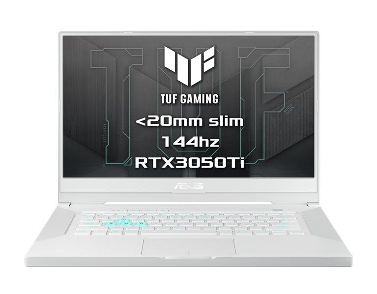 "ASUS TUF Dash F15 FX516PE-HN020T i7-11370H, 8GB , 1TB SSD, RTX 3050Ti (4GB), 15,6"" FHD IPS, Win10, MoonlightWhite FX516PE-HN020T"