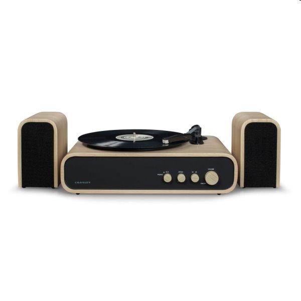 Gramofón Crosley Gig, natural CR6035A-NA