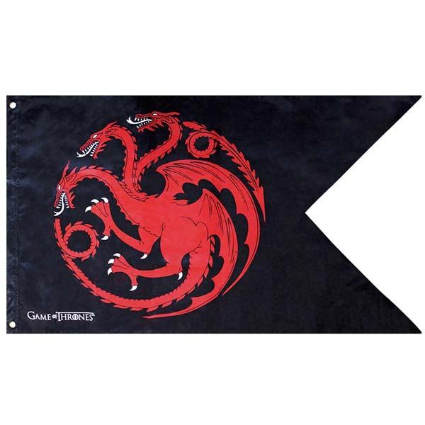 Vlajka Targaryen (Game of Thrones) ABYDCT016
