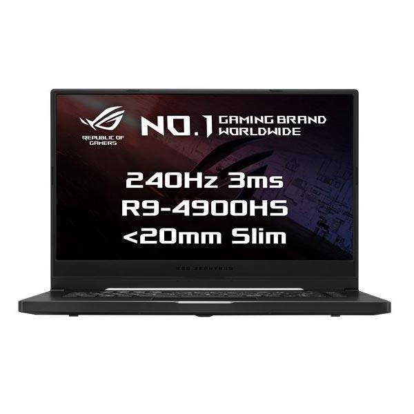 "ASUS ROG Zephyrus G15 GA502IV-AZ040T R9-4900HS, 16GB, 1TB SSD, RTX2060 (6GB), 15,6"" FHD, Win 10, Brushed Black GA502IV-AZ040T"