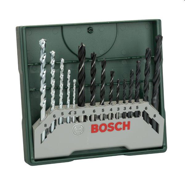 Bosch 15 dielna zmiešaná súprava Mini-X-Line vrtákov 2607019675