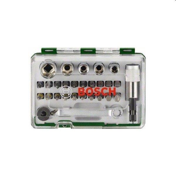 Bosch 27 dielna súprava skrutkovacích bitov s račňou 2607017562