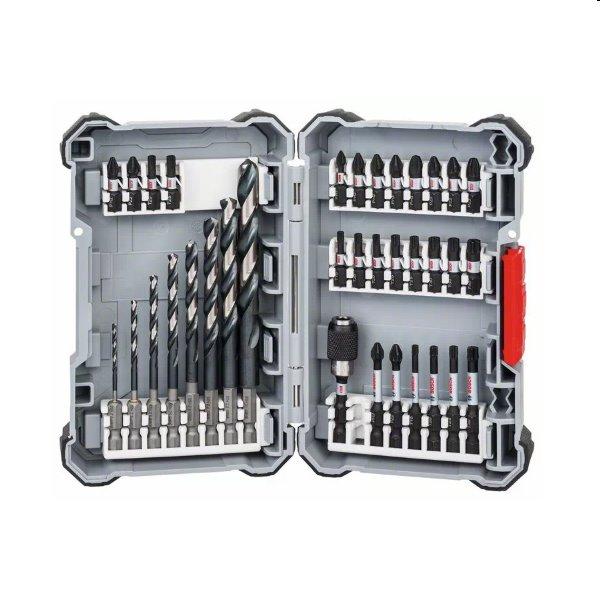 Bosch 35 dielna sada špirálových vrtákov a bitov MultiConstruction 2607017570