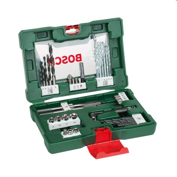 Bosch 41 dielna sada vrtákov a skrutkovacích bitov s uhlovým skrutkovačom V-Line 2607017316