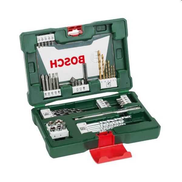 Bosch 48 dielna sada titánových vrtákov a skrutkovacích bitov s magnetickou tyčkou V-Line 2607017314