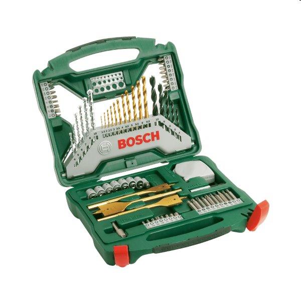 Bosch 70 dielna sada vrtákov a skrutkovacích bitov X-Line 2607019329