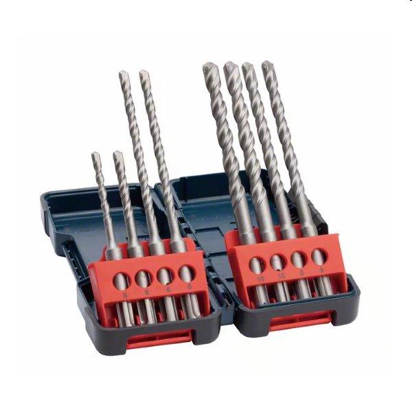 Bosch 8 dielna sada vrtákov SDS plus-3 2607019903
