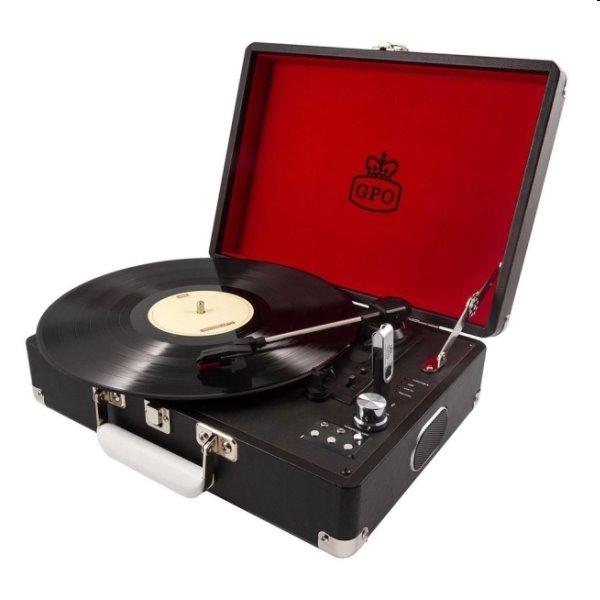 Gramofón GPO Attache, čierny GPO08