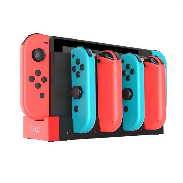 Nabíjacia stanica iPega 9186 pre Nintendo Switch Joy-con, black
