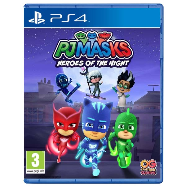 PJ Masks: Heroes of the night PS4