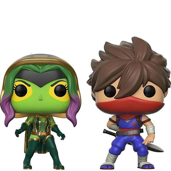POP! Games: Gamora vs Strider (Marvel vs Capcom) POP-2pack