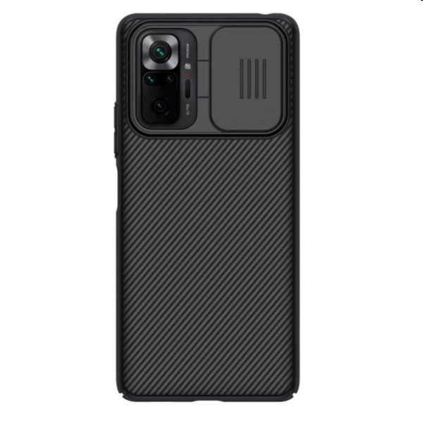 Puzdro Nillkin CamShield pre Xiaomi Redmi Note 10 Pro, čierne 57983103662