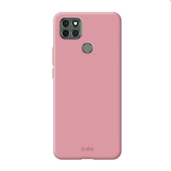 Puzdro SBS Sensity pre Motorola Moto G9, ružové TESENSMOG9PWP
