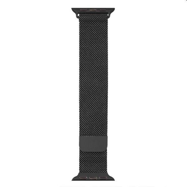 Nerezový remienok COTEetCI pre Apple Watch 42/44/45mm, black