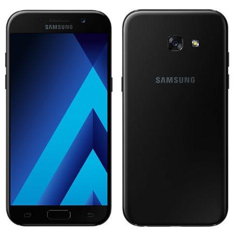 Samsung Galaxy A5 2017 - A520F, Single SIM, 32GB   Black, Trieda B - použité s DPH, záruka 12 mesiacov