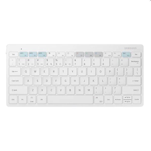 Samsung smart bluetooth klávesnica Trio 500, white EJ-B3400UWEGEU