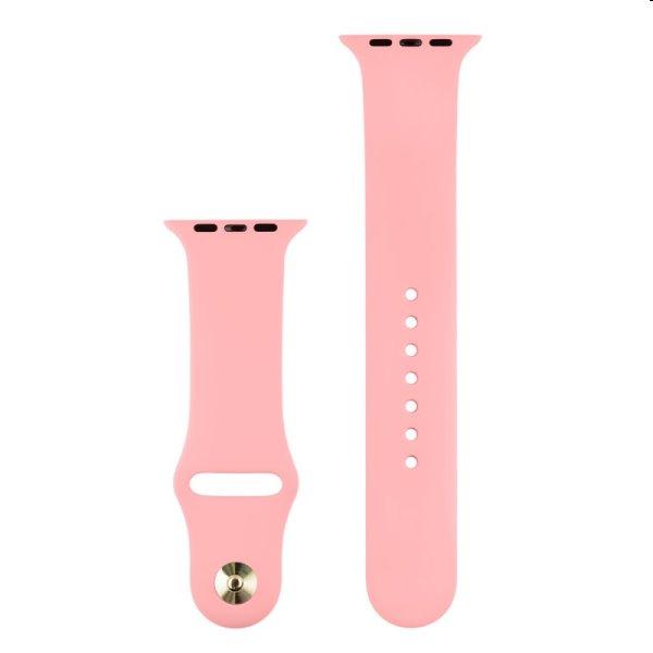 Silikónový remienok COTEetCI pre Apple Watch 38/40/41mm, light pink