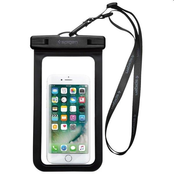 Spigen Velo A600 univerzálne vodeodolné puzdro pre smartfóny, čierne