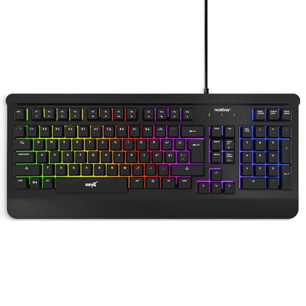 Herná klávesnica Niceboy ORYX K210 Core CZ/SK ORYX-K-210-core