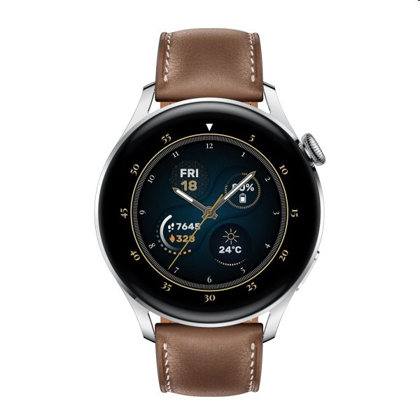 Huawei Watch 3, brown