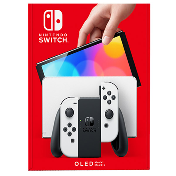 Nintendo Switch – OLED Model, white