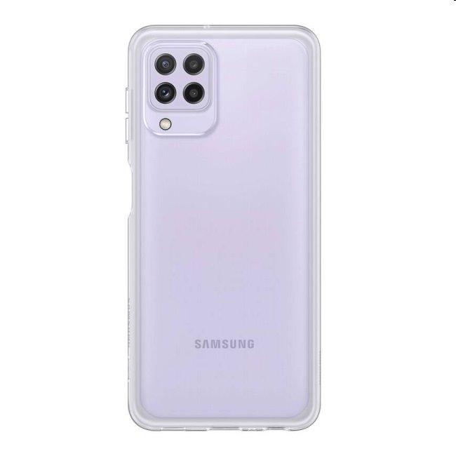 Puzdro Clear Cover pre Samsung Galaxy A22 - A225F, transparent (EF-QA225T)
