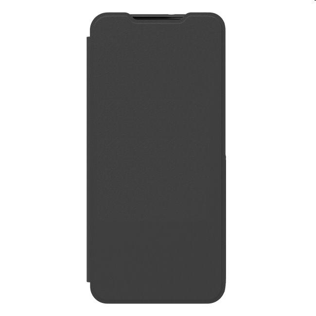 Puzdro Flip Wallet Cover pre Samsung Galaxy A22 - A225F, black (GP-FWA225AM)