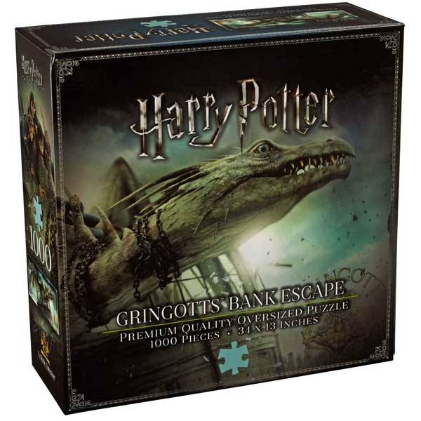 Puzzle Gringotts Bank Escape 1000pc (Harry Potter) NN9455