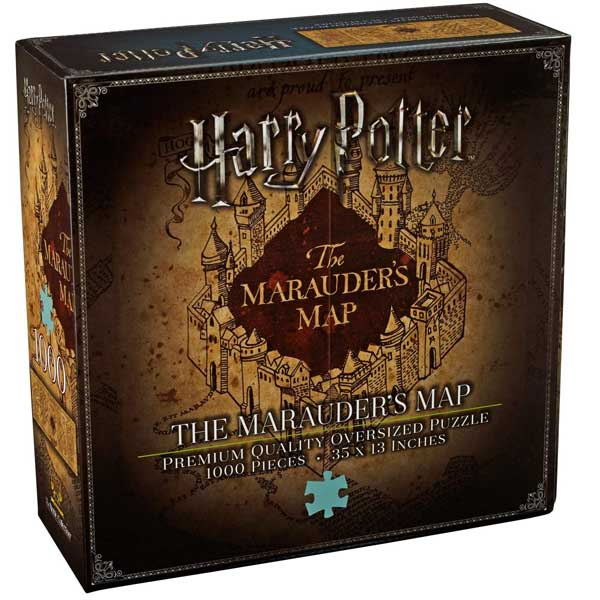 Puzzle The Marauder's Map Cover 1000pc (Harry Potter) NN9457