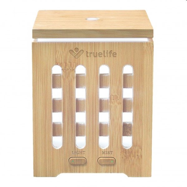 Prírodný aróma difuzér – TrueLife AIR Diffuser D7 Bamboo