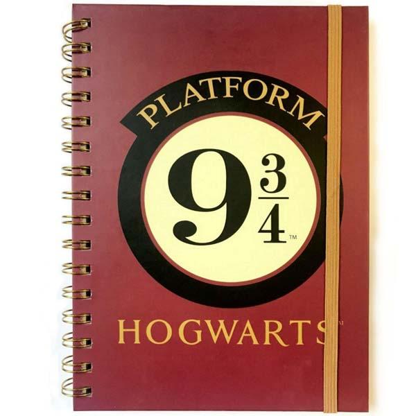 Zápisník Platform 9 3/4 A5 (Harry Potter) SR73234
