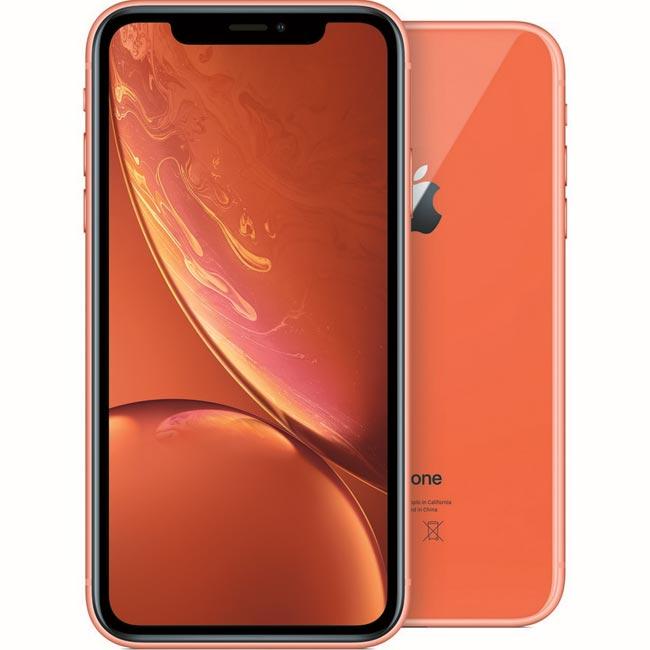 Apple iPhone XR 64GB, coral, Trieda A - použité, záruka 12 mesiacov