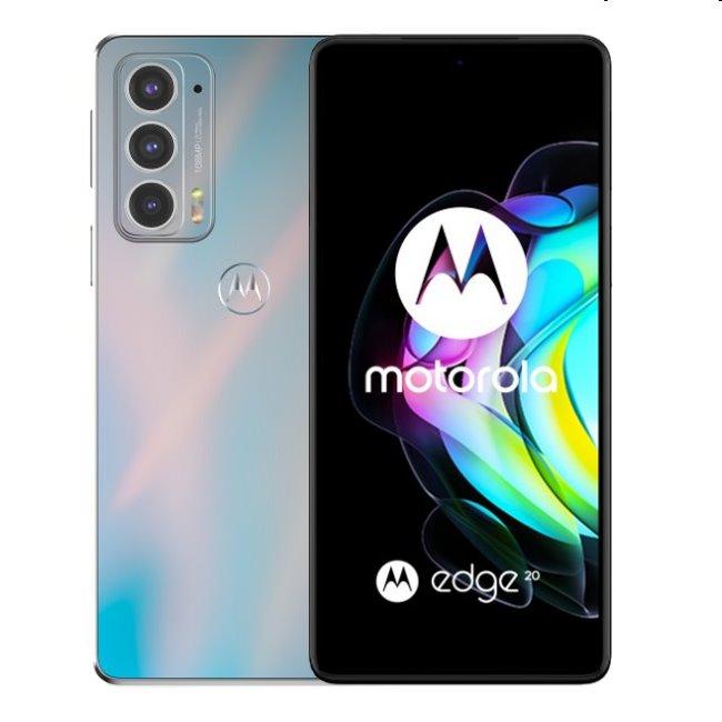 Motorola Edge 20 5G, 8/128GB, dreamy white PAR00038PL