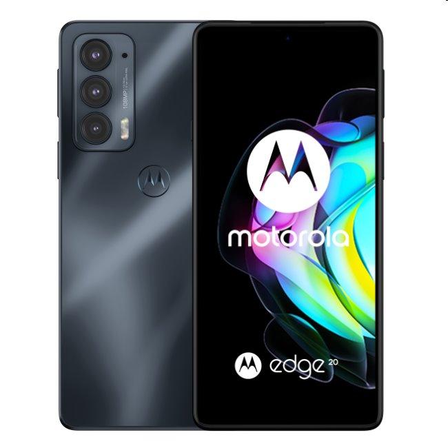 Motorola Edge 20 5G, 8/128GB, stout black PAR00027PL