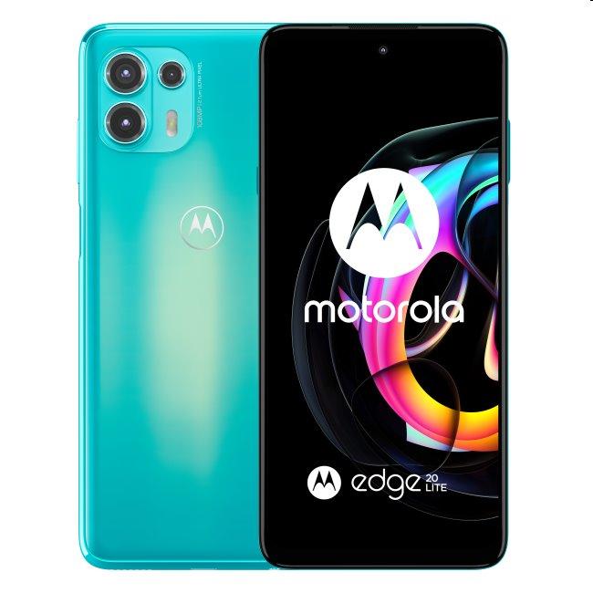 Motorola Edge 20 Lite 5G, 8/128GB, cyber teal PANE0044PL