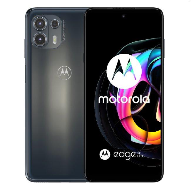 Motorola Edge 20 Lite 5G, 8/128GB, electric graphite PAR00027PL