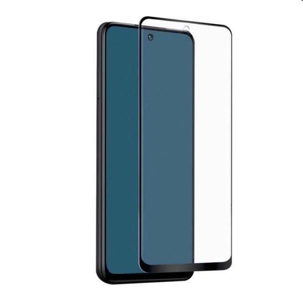 Tvrdené sklo SBS Full Cover pre Xiaomi Redmi Note 10 5G/Poco M3 Pro 5G, čierne